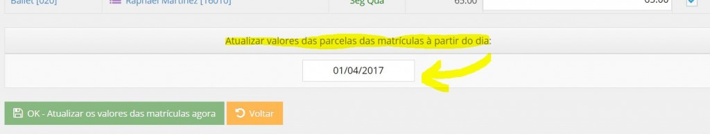 data inicial
